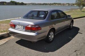 2001 Honda Accord VTi-L Grey 4 Speed Automatic Sedan