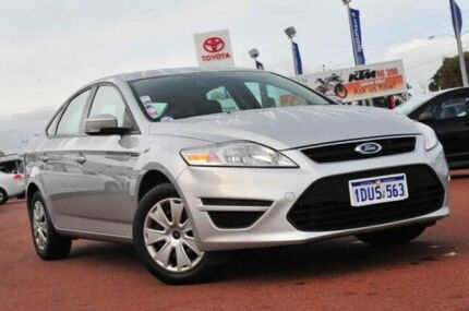 2011 Ford Mondeo MC LX PwrShift TDCi Silver 6 Speed Sports Automatic Dual Clutch Hatchback Wangara Wanneroo Area Preview