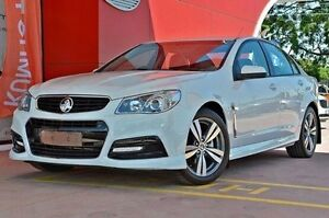 2014 Holden Commodore VF MY15 SV6 White 6 Speed Sports Automatic Sedan Dandenong Greater Dandenong Preview