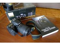 Nikon D7000 + 18-105 Nikon VR Lens in excellent condition / only 2,400 shutter releases