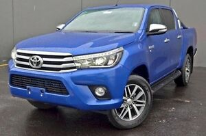 2015 Toyota Hilux GGN25R MY14 SR5 (4x4) Blue 5 Speed Sports Automatic Utility Cranbourne Casey Area Preview