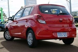 2013 Hyundai i20 PB MY13 Active Red 6 Speed Manual Hatchback Wilson Canning Area Preview
