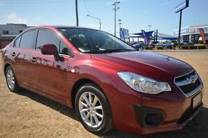 2014 Subaru Impreza G4 MY14 2.0i Lineartronic AWD Red 6 Speed Constant Variable Sedan Vincent Townsville City Preview