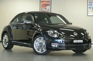 2013 Volkswagen Beetle 1L MY13 FENDER EDITION COUPE Black Semi Auto Liftback Chatswood Willoughby Area Preview