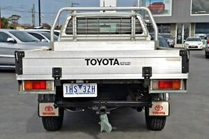 2012 Toyota Hilux White Manual Utility Frankston Frankston Area Preview
