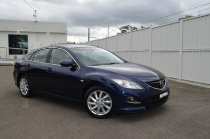 2010 Mazda 6 GH1052 MY10 Classic Blue 5 Speed Sports Automatic Hatchback Gosford Gosford Area Preview
