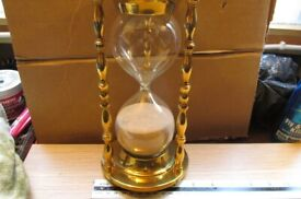 antique hour glass