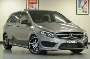 2016 Mercedes-Benz B250 W246 Mountain Grey Semi Auto Hatchback Chatswood Willoughby Area Preview