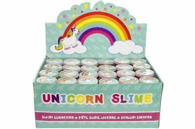 12 x Schleim Einhorn Einhornschleim Unicorn Slime Putty Mitgebsel