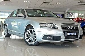 2011 Audi A6 4F MY11 Multitronic Silver 1 Speed Constant Variable Sedan Dandenong Greater Dandenong Preview