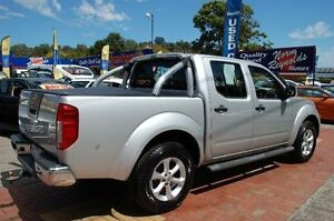 2013 Nissan Navara D40 MY12 ST (4x4) Silver 5 Speed Automatic Dual Cab Pick-up Upper Ferntree Gully Knox Area Preview