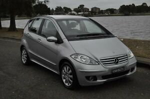 2006 Mercedes-Benz A200 W169 Elegance Silver 7 Speed CVT Auto Sequential Hatchback Croydon Burwood Area Preview