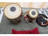 Tabla Set (Indian Musical Instrument)