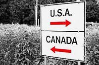 FRONTIERE CANADA / USA LACOLLE