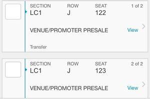 2 Ryan Adams Tickets