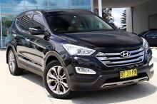 2012 Hyundai Santa Fe DM MY13 Highlander Black 6 Speed Sports Automatic Wagon Baulkham Hills The Hills District Preview