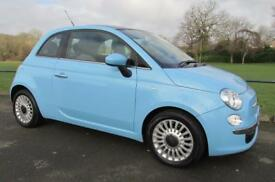 2012 (12) Fiat 500 1.2 ( 69bhp ) LOUNGE ***FINANCE AVAILABLE***