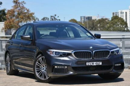 2017 BMW 520d G30 M Sport Steptronic Grey 8 Speed Sports Automatic Sedan St Leonards Willoughby Area Preview