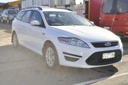 2012 Ford Mondeo MC LX Tdci White 6 Speed Direct Shift Wagon Hoppers Crossing Wyndham Area Preview