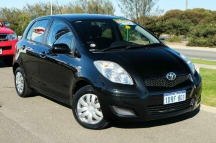 2011 Toyota Yaris NCP90R MY11 YR Ink 4 Speed Automatic Hatchback Mindarie Wanneroo Area Preview