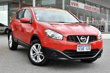 2013 Nissan Dualis J10W Series 3 MY12 ST Hatch X-tronic 2WD Red 6 Speed Constant Variable Hatchback Edgewater Joondalup Area Preview