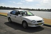 1998 Toyota Corolla AE102R Conquest Seca White 4 Speed Automatic Liftback Croydon Burwood Area Preview