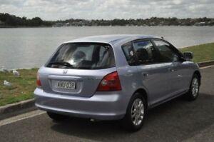 2002 Honda Civic 7TH GEN VI Blue 4 Speed Automatic Hatchback