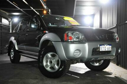2010 Nissan Navara D22 MY2010 ST-R Black 5 Speed Manual Utility Wangara Wanneroo Area Preview