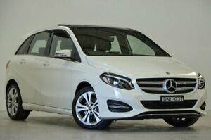2017 Mercedes-Benz B200 W246 807MY DCT White 7 Speed Sports Automatic Dual Clutch Hatchback Mascot Rockdale Area Preview