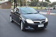 2005 Holden Tigra XC Black 5 Speed Manual Convertible Brompton Charles Sturt Area Preview
