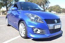 2012 Suzuki Swift FZ Sport Blue 7 Speed Constant Variable Hatchback Renown Park Charles Sturt Area Preview