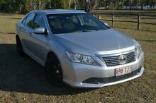 2012 Toyota Aurion AT-X Silver Automatic Sedan Berserker Rockhampton City Preview
