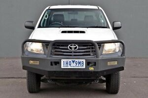 2011 Toyota Hilux  White Manual Utility Cranbourne Casey Area Preview
