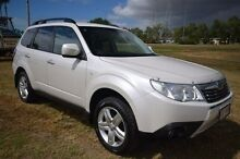 2010 Subaru Forester S3 MY10 XS AWD White 5 Speed Manual Wagon Vincent Townsville City Preview