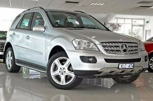 2008 Mercedes-Benz ML320 CDI W164 MY08 Silver 7 Speed Sports Automatic Wagon Dandenong Greater Dandenong Preview