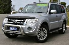 2014 Mitsubishi Pajero NW MY14 VR-X Silver 5 Speed Sports Automatic Wagon Melville Melville Area Preview