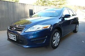 2012 Ford Mondeo MC LX Tdci Blue 6 Speed Direct Shift Wagon Upper Ferntree Gully Knox Area Preview