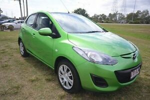 2011 Mazda 2 DE10Y1 MY10 Neo Green 5 Speed Manual Hatchback Vincent Townsville City Preview