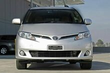 2013 Toyota Tarago GSR50R MY13 GLI Silver 6 Speed Sports Automatic Wagon Upper Ferntree Gully Knox Area Preview