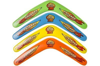 6x Bumerang 30 cm Boomerang Bummerang Kindergeburtstag Mitgebsel Geschenk