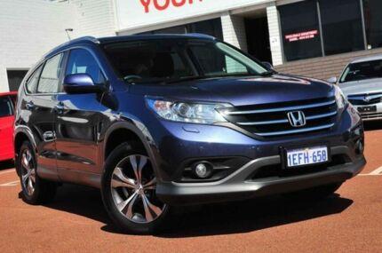 2013 Honda CR-V RM MY14 VTi-L 4WD Blue 5 Speed Automatic Wagon Balcatta Stirling Area Preview
