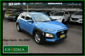2018 Hyundai Kona OS.2 MY19 Active (FWD) Blue 6 Speed Automatic Wagon Seven Hills Blacktown Area Preview