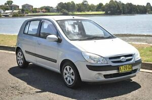 2006 Hyundai Getz TB Upgrade 1.4 Silver 5 Speed Manual Hatchback Croydon Burwood Area Preview