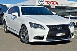 2013 Lexus LS460 White Sports Automatic Sedan Keysborough Greater Dandenong Preview