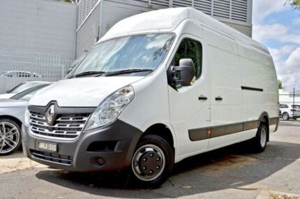 2016 Renault Master X62 High Roof ELWB AMT RWD White 6 Speed Sports Automatic Single Clutch Van