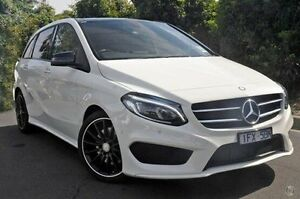 2015 Mercedes-Benz B250 White Sports Automatic Dual Clutch Hatchback Doncaster Manningham Area Preview