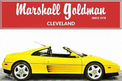 1992 Ferrari 348 TS  1992 Ferrari 348 TS  Convertible 3.4L DOHC V8 Manual
