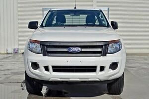 2013 Ford Ranger PX XL Super Cab White 6 Speed Manual Cab Chassis Seaford Frankston Area Preview