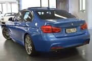 2016 BMW 318i F30 LCI M Sport Estoril Blue 8 Speed Sports Automatic Sedan Chatswood Willoughby Area Preview