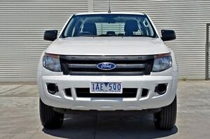 2013 Ford Ranger PX XL Double Cab 4x2 Hi-Rider White 6 Speed Sports Automatic Utility Seaford Frankston Area Preview